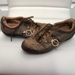 Baby Phat   Brown & gold Sneakers, Size 7.5